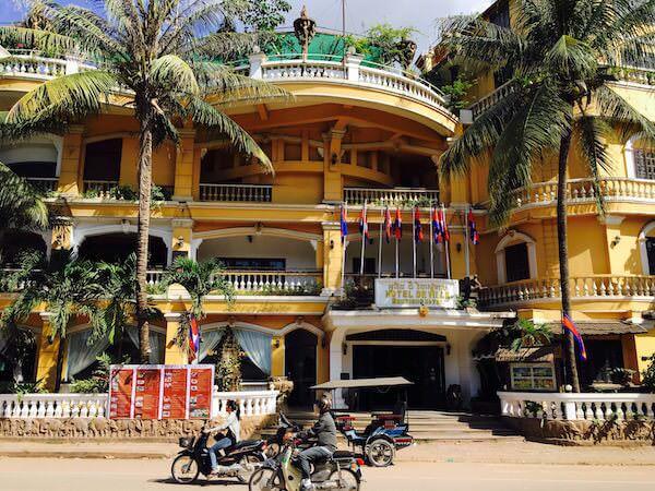 ホテル デ ビレ シェム リープ (Hotel De Ville Siem Reap)の外観