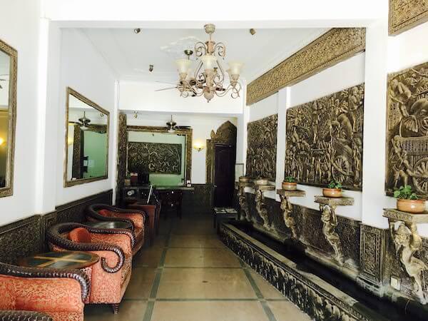 ホテル デ ビレ シェム リープ (Hotel De Ville Siem Reap)のレセプション