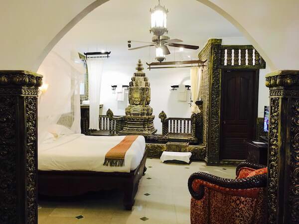 ホテル デ ビレ シェム リープ (Hotel De Ville Siem Reap)の客室1