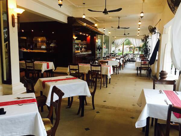 ホテル デ ビレ シェム リープ (Hotel De Ville Siem Reap)の朝食会場