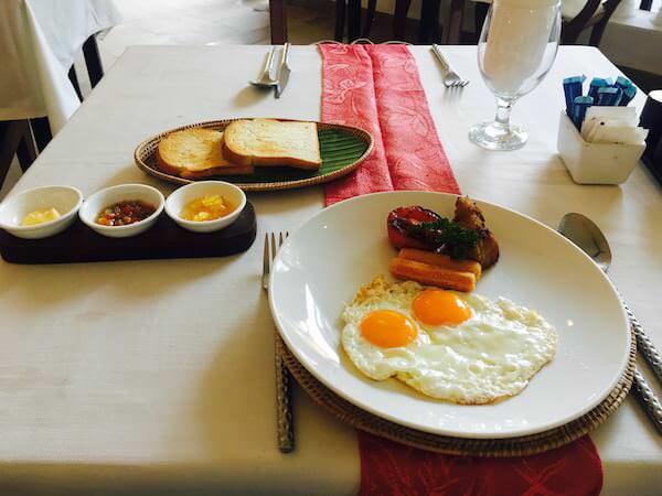 ホテル デ ビレ シェム リープ (Hotel De Ville Siem Reap)の朝食