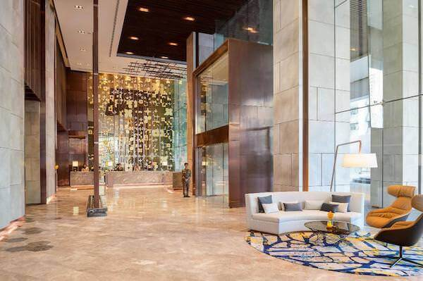 ホテル ニッコー バンコク(Hotel Nikko Bangkok)のエントランス