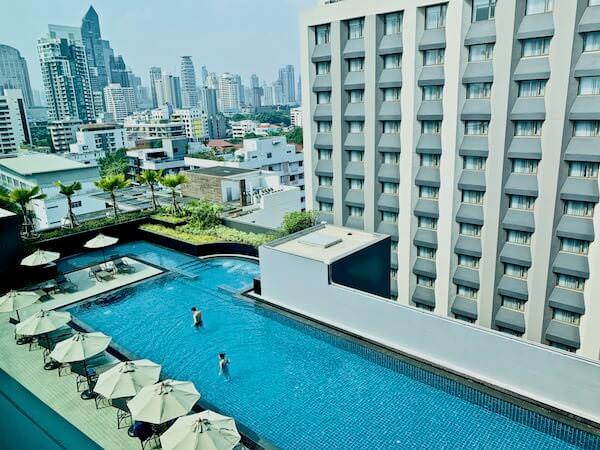 ホテル ニッコー バンコク(Hotel Nikko Bangkok)の客室から見える景色