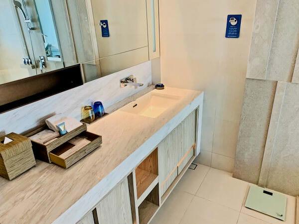 ホテル ニッコー バンコク(Hotel Nikko Bangkok)の洗面台