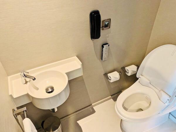 ホテル ニッコー バンコク(Hotel Nikko Bangkok)のトイレ