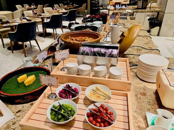 ホテル ニッコー バンコク(Hotel Nikko Bangkok)の朝食1