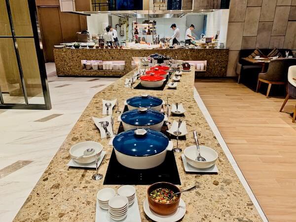 ホテル ニッコー バンコク(Hotel Nikko Bangkok)の朝食 タイ料理