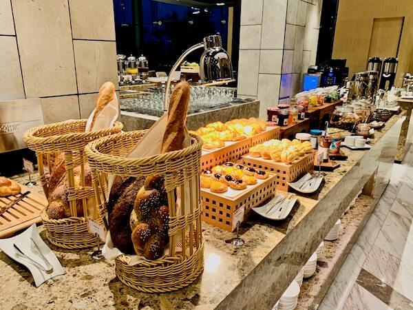 ホテル ニッコー バンコク(Hotel Nikko Bangkok)の朝食 トースト類