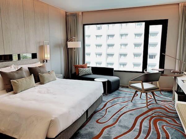 ホテル ニッコー バンコク(Hotel Nikko Bangkok)の客室