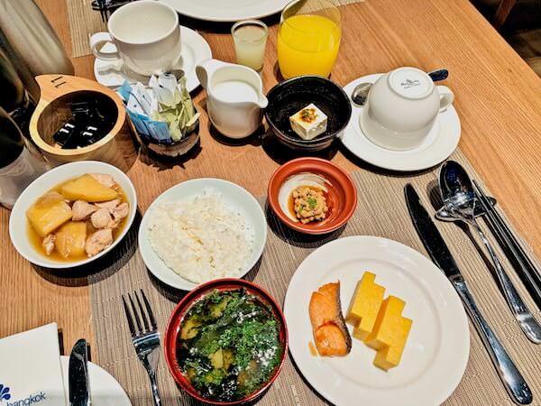 ホテル ニッコー バンコク(Hotel Nikko Bangkok)の朝食