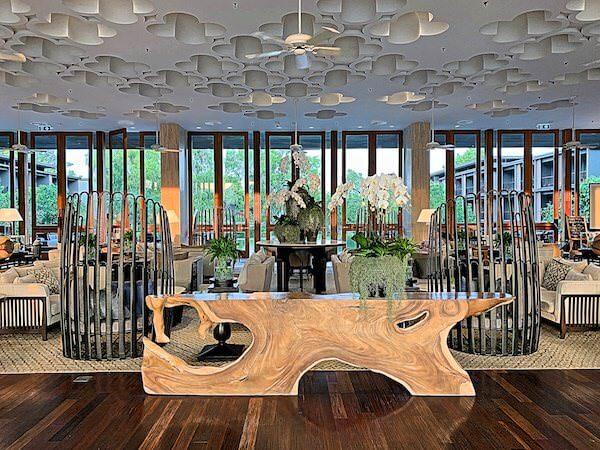 ホアヒン マリオット リゾート アンド スパ(Hua Hin Marriott Resort and Spa)のエントランスロビー2