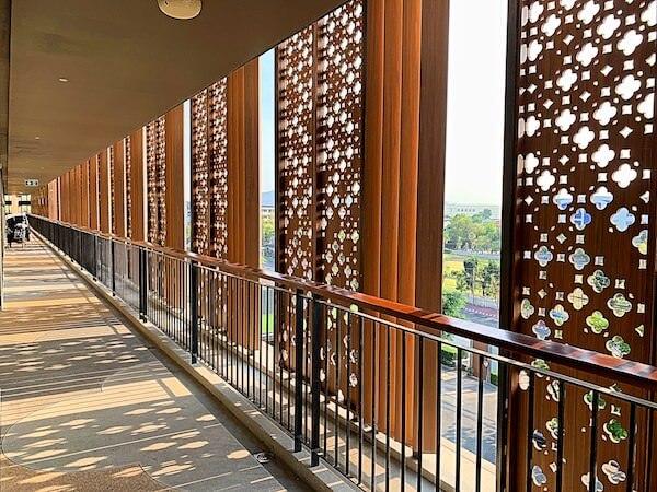 ホアヒン マリオット リゾート アンド スパ(Hua Hin Marriott Resort and Spa)の共用通路