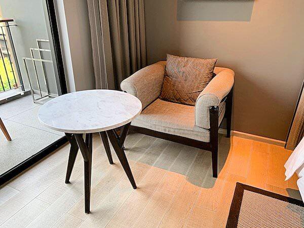 ホアヒン マリオット リゾート アンド スパ(Hua Hin Marriott Resort and Spa)のソファー