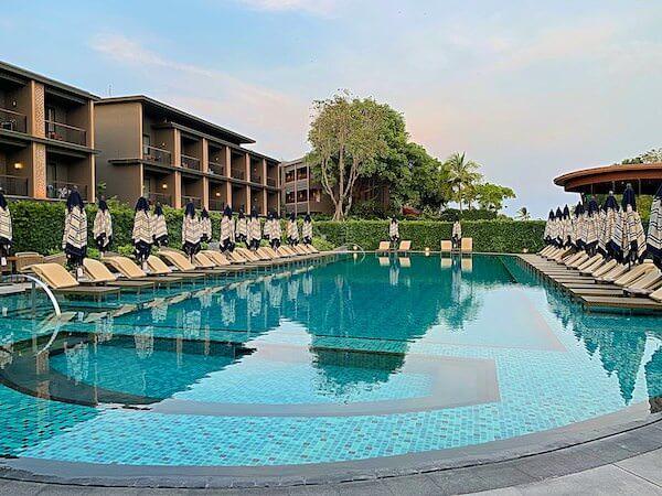 ホアヒン マリオット リゾート アンド スパ(Hua Hin Marriott Resort and Spa)の大人用プール