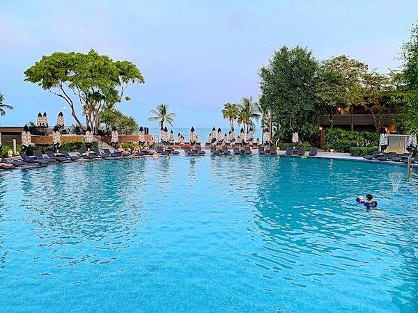 ホアヒン マリオット リゾート アンド スパ(Hua Hin Marriott Resort and Spa)のファミリー用プール