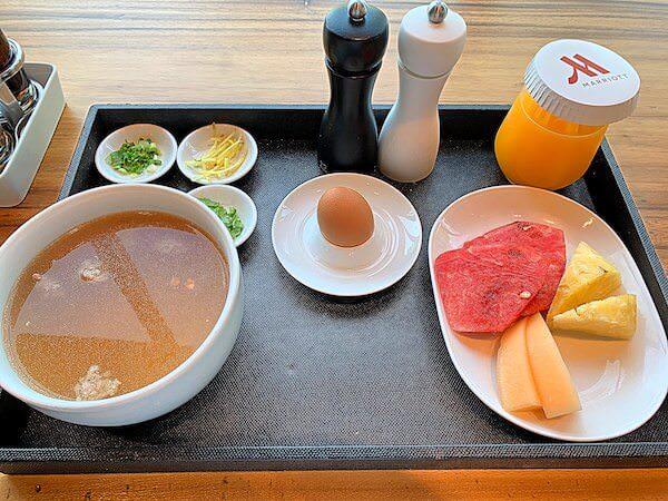 ホアヒン マリオット リゾート アンド スパ(Hua Hin Marriott Resort and Spa)の朝食1