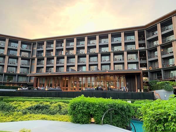 ホアヒン マリオット リゾート アンド スパ(Hua Hin Marriott Resort and Spa)の外観