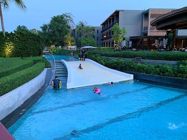 ホアヒン マリオット リゾート アンド スパ(Hua Hin Marriott Resort and Spa)のプールスライダー