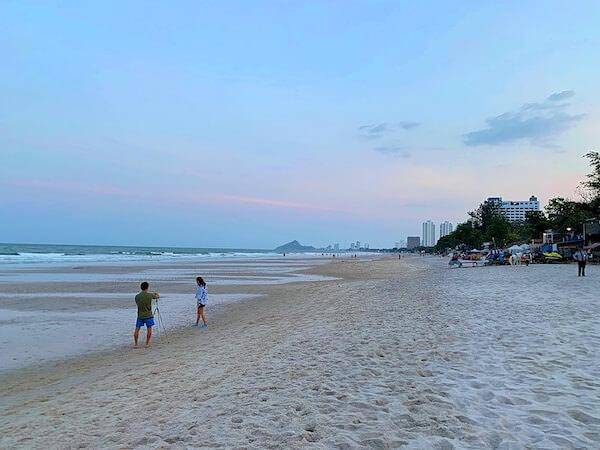 ホアヒン マリオット リゾート アンド スパ(Hua Hin Marriott Resort and Spa)のプライベートビーチ