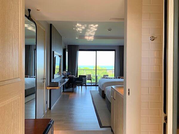 ホアヒン マリオット リゾート アンド スパ(Hua Hin Marriott Resort and Spa)の客室1