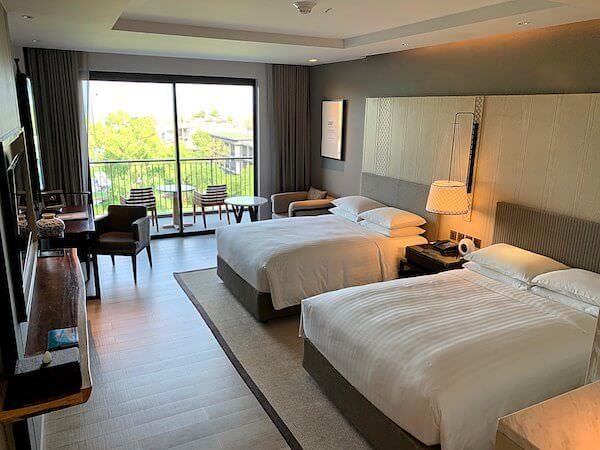 ホアヒン マリオット リゾート アンド スパ(Hua Hin Marriott Resort and Spa)の客室2