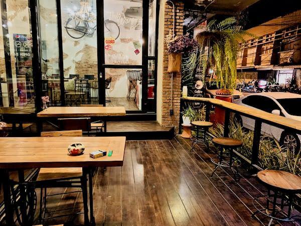 ハグヌール ホステル アンド コーヒー(Hugnur Hostel and Coffee)のカフェスペース