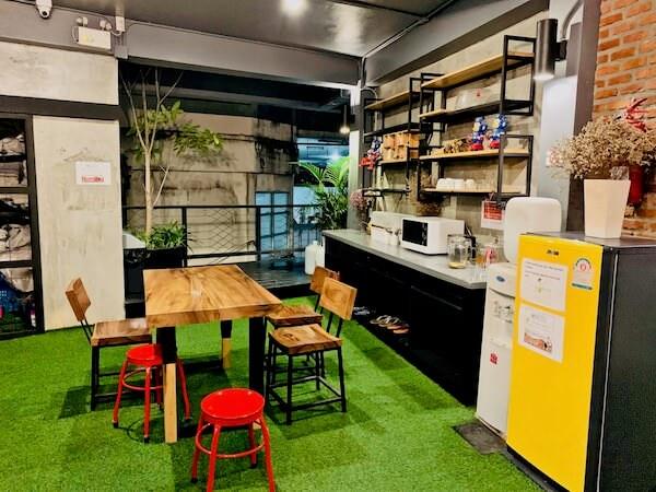 ハグヌール ホステル アンド コーヒー(Hugnur Hostel and Coffee)の雑談スペース1