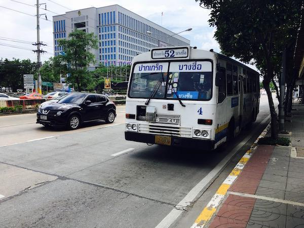 帰りのバス52番
