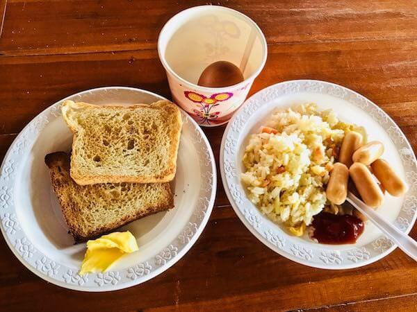 ジラワン ホテル (Jirawan Hotel)の朝食