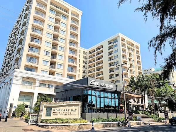 カンタリー ベイ ホテル ラヨーン(Kantary Bay Hotel Rayong)の外観
