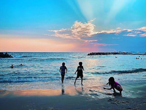 センチャンビーチ(Saeng Chan Beach)のサンセット