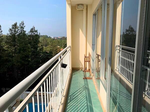 カンタリー ベイ ホテル ラヨーン(Kantary Bay Hotel Rayong)の客室バルコニー