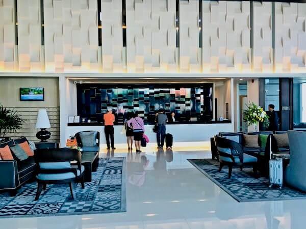 カンタリー ホテル アンド サービスド アパートメント コラート (Kantary Hotel and Serviced Apartment Korat)のレセプションロビー
