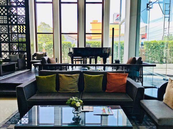カンタリー ホテル アンド サービスド アパートメント コラート (Kantary Hotel and Serviced Apartment Korat)のエントランスロビー