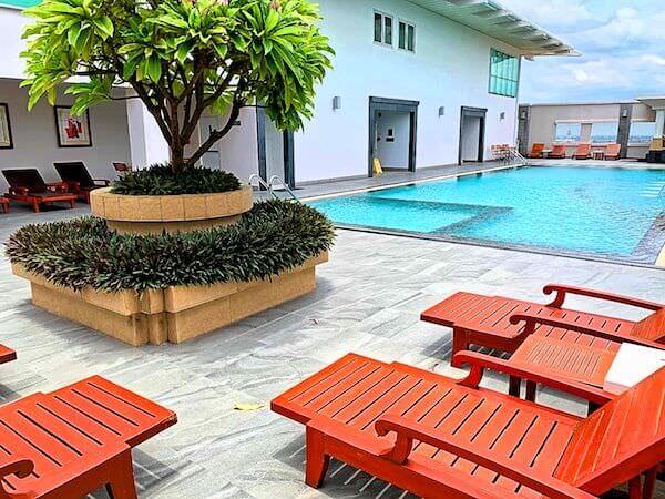カンタリーホテル アユタヤ(Kantary Hotel Ayutthaya)のプール