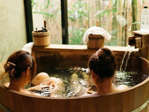 貸切温泉 アンド スパ(Kashikiri Soda Onsen And Spa)の二人用風呂2