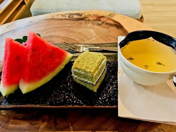 貸切温泉 アンド スパ(Kashikiri Soda Onsen And Spa)の入浴後デザート