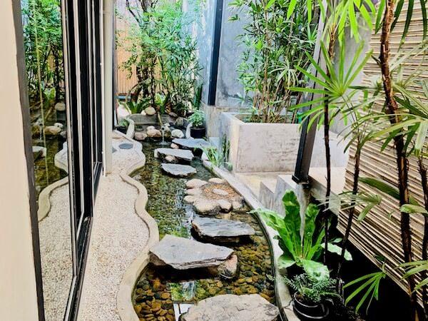 貸切温泉 アンド スパ(Kashikiri Soda Onsen And Spa)の中庭