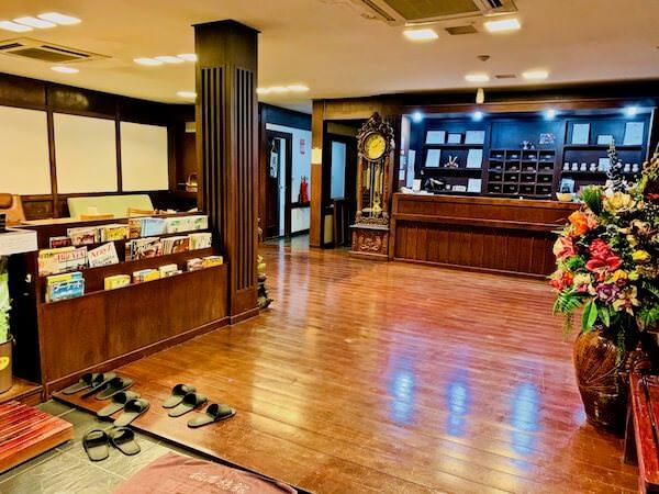 柏屋旅館タイホテル(Kashiwaya Ryokan Thai Hotel)のロビー
