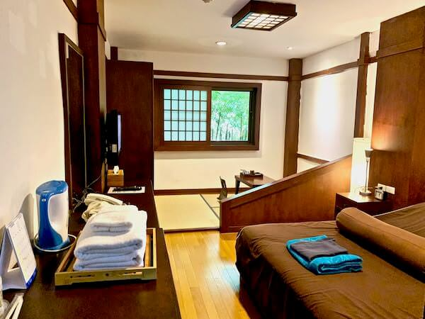 柏屋旅館タイホテル(Kashiwaya Ryokan Thai Hotel)の客室1