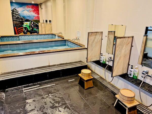 柏屋旅館(Kashiwaya Ryokan)の大浴場