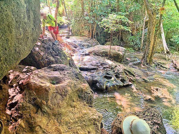キーンのNEWPORT H2をエラワン国立公園でのトレッキングに使用