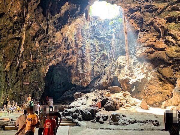 カオルアン洞窟の第二ホール