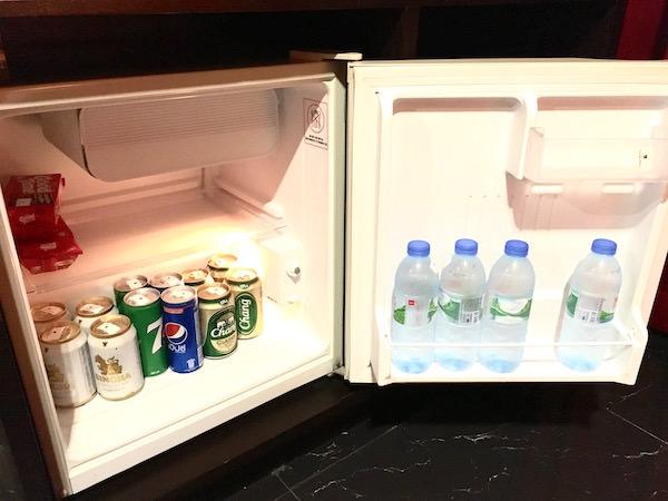 カオサン パレス ホテル(Khaosan Palace Hotel)の冷蔵庫