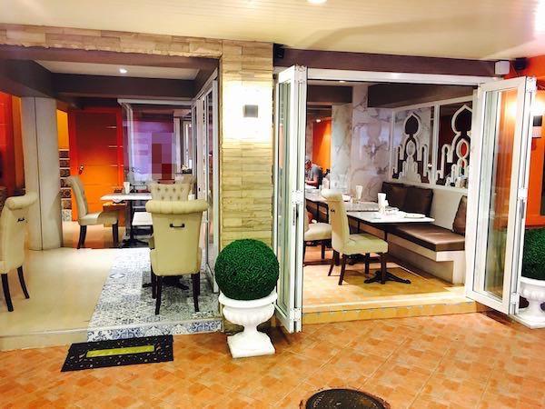 カオサン パレス ホテル(Khaosan Palace Hotel)の朝食会場