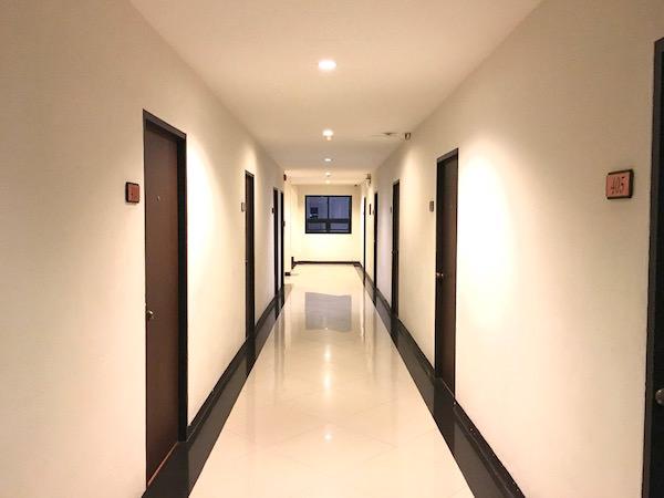 カオサンパークホテルの共用部