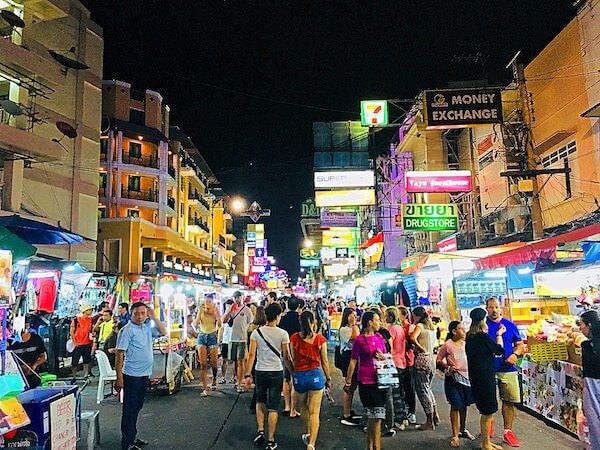 カオサン通りの夜