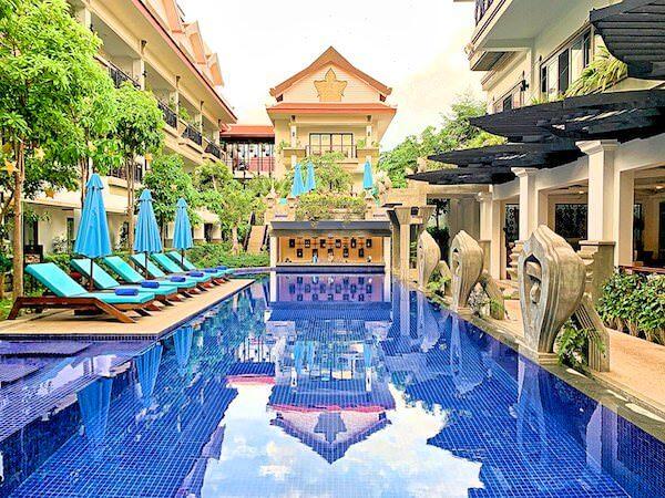 クメール マンション レジデンス(Khmer Mansion Residence)のプール