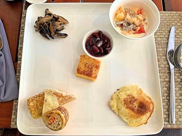 クメール マンション レジデンス(Khmer Mansion Residence)の朝食