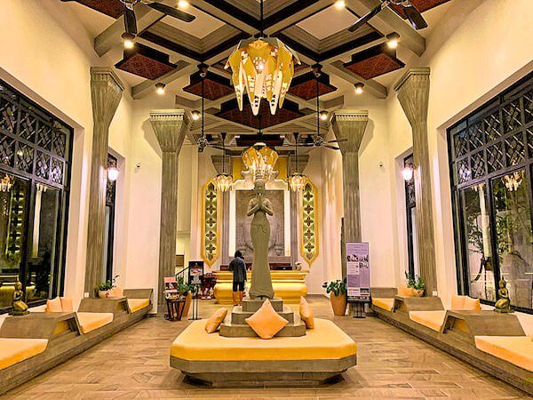 クメール マンション レジデンス(Khmer Mansion Residence)のエントランスロビー
